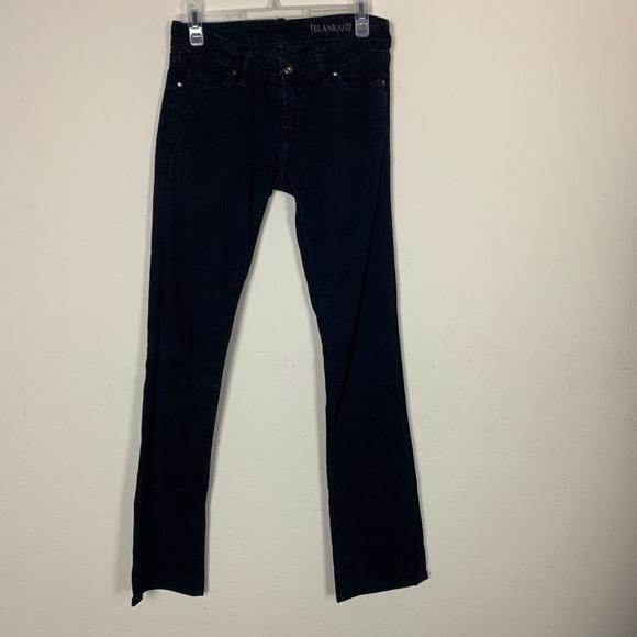 Blank NYC Denim - [Blank NYC]- Straight Dark Jeans size 26